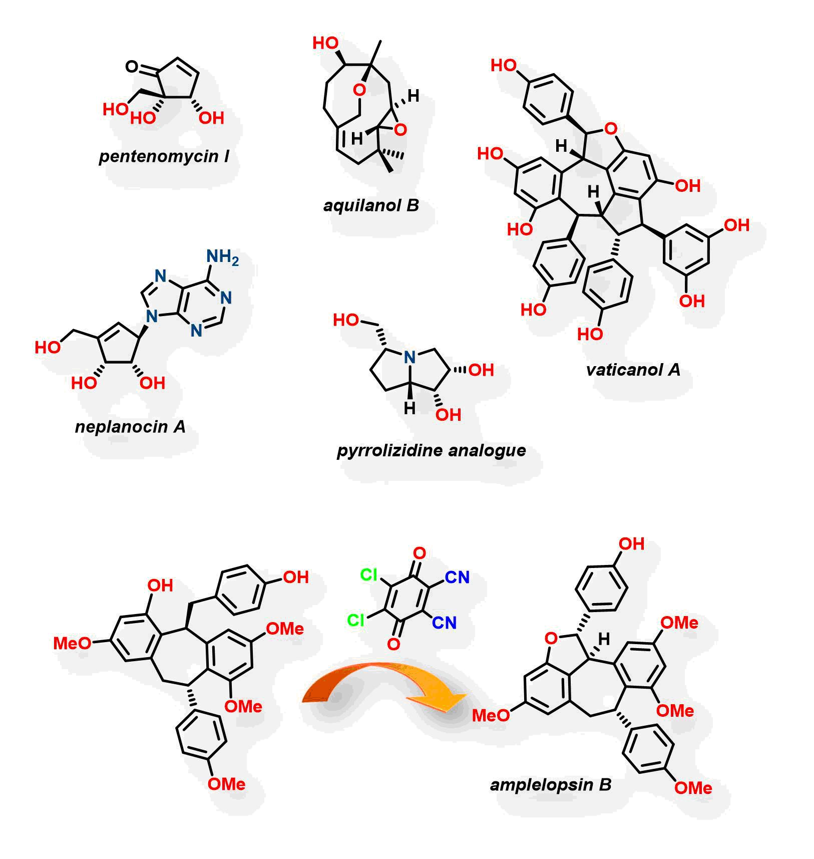 Photo of a molecule